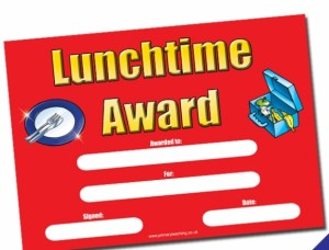 Lunchtime Award
